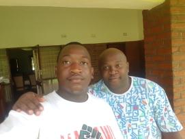 Nova and Sydney somewhere in Lilongwe