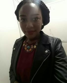 Naomi somewhere in Lilongwe