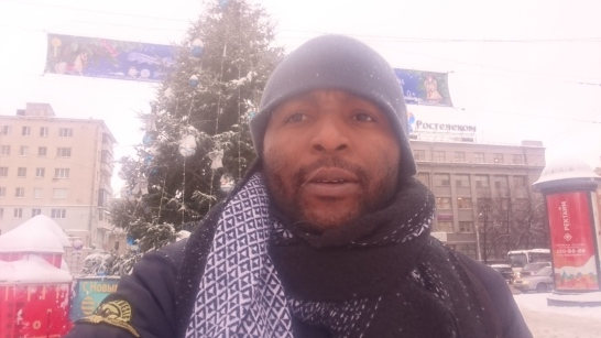 Patrick somewhere in Russia