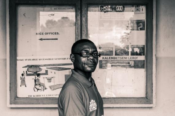 Jimmy Mokotheliwa, a social worker